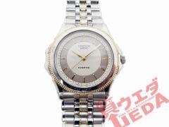 【SEIKO CREDOR】セイコー クレドール パシフィーク KINTEC 18KT×SS コンビ メンズ 腕時計【訳有り】【中古】