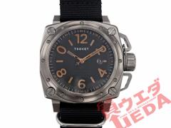 【TSOVET】ソベット SVT-AX87 裏スケルトン SS 黒文字盤 自動巻き 替えベルト付き メンズ 腕時計