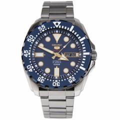 【当店1年保証】セイコーSeiko Mens Stainless-Steel Automatic Divers Watch 100M W/R (Made in Japan