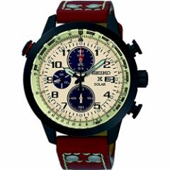 【当店1年保証】セイコーSeiko SSC425 Mens Prospex Chronograph Leather 43mm Watch