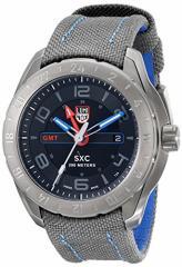 【当店1年保証】ルミノックスLuminox Mens A.5121.GN SXC Analog Display Swiss Quartz Grey Watch