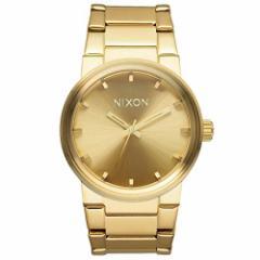 【当店1年保証】ニクソンNixon The Cannon A160502 Unisex Gold Plated Watch