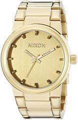 【当店1年保証】ニクソンNixon Mens A160-1891 Cannon All Gold Watch