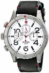 【当店1年保証】ニクソンNixon Mens A363486 48-20 Chrono Leather Watch