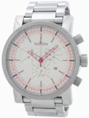 【当店1年保証】ニクソンNixon Mens Magnacon Quartz Stainless Steel Watch(Model: A154199-00)