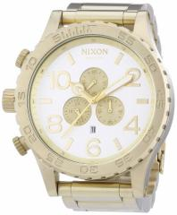 【当店1年保証】ニクソンNixon A0831219-00 - Wristwatch unisex, Stainless Steel inox, Color: oro