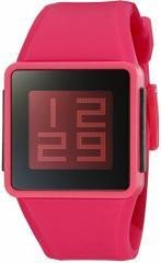 【当店1年保証】ニクソンNixon Mens A137-220-00 Newton Digital Display Japanese Automatic Red Watc