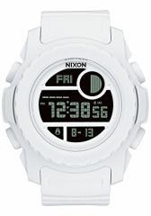 【当店1年保証】ニクソンNixon Super Unit Digital Watch All White