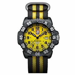 【当店1年保証】ルミノックスLuminox 3955.SET Mens Sea Scott Cassell Specials Yellow Dial Interc