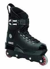 """インラインスケートRoces Mens """"M12 UFS"""" Aggressive Street Inline Skates. Black. Superior Italian Desi"""