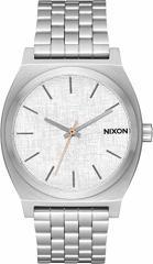 【当店1年保証】ニクソンNixon Mens Time Teller Analog Watch in Color: All Silver / Rose Gold