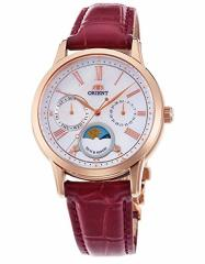 【当店1年保証】オリエントORIENT classic SUN and MOON quartz watch RN-KA0001A Ladies