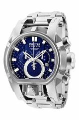 【当店1年保証】インヴィクタInvicta Mens Reserve Quartz Watch with Stainless-Steel Strap, Silve