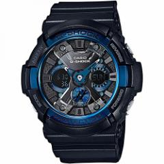 【当店1年保証】カシオCasio GA200CB-1A Mens XL Analog Digital Chronograph Alarm Black G Shock Watc
