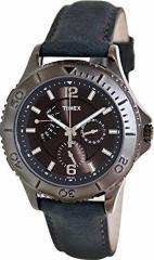 【当店1年保証】タイメックスTimex Leather Mens Watch T2P178