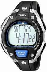 【当店1年保証】タイメックスTimex Mens T5K718 Ironman Road Trainer Full-Size Digital HRM Watch