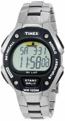 【当店1年保証】タイメックスTimex Mens IRONMAN 30-Lap Stainless Steel & Resin Sports Watch #T5H
