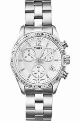 【当店1年保証】タイメックスTimex T2P059 Ladies KALEIDOSCOPE CHRONOGRAPH Silver Watch
