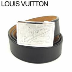 62c1bbd68493 ルイ ヴィトン Louis Vuitton ベルト ♯80 32サイズ レディース メンズ 【中古】 T8149