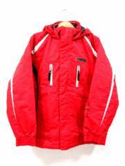 スポルディング SPALDING スノボー ウェア スキー セットアップ 上下セット 赤 黒 キッズ 160cm メンズ レディース