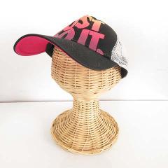 ナイキ NIKE キャップ 帽子 メッシュ ロゴ 黒 ブラック S-17101406 レディース ベクトル【中古】