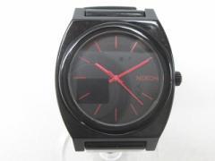 ニクソン NIXON TIME TELLER P BLACK タイムテラー 腕時計 クォーツ時計 ウォッチ CP3264 ブラック レッド 1205 メンズ レディース