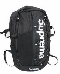 シュプリーム SUPREME 17SS Backpack バックパック リュック 黒 ブランド古着ベクトル 中古▲180722 0220 メンズ ベクトル【中古】