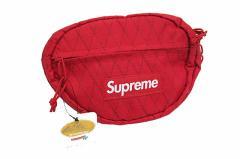 シュプリーム SUPREME 未使用 18AW Waist Bag ウエスト バッグ ボディバッグ 赤レッド 中古☆AA★181028 0120 メンズ ベクトル【中古】