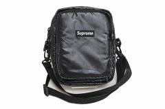 シュプリーム SUPREME 17AW Shoulder Bag ショルダー バッグ ポシェット黒ブラック 中古☆AA★181115 0080 メンズ ベクトル【中古】