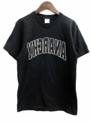 シュプリーム SUPREME Tシャツ カットソー アナーキー プリント 黒 M /TU メンズ ベクトル【中古】