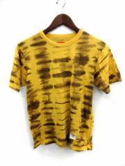 シュプリーム SUPREME Tシャツ カットソー 半袖 Tie Dye Shirt タイダイ 総柄 S 黄色 13SS /YM メンズ ベクトル【中古】