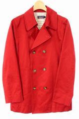 ニューヨーカー NEWYORKER Pコート ジャケット ロング 赤 M レディース