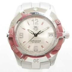 789f4f69cb タグホイヤー TAG HEUER WN111C 2000 エクスクルーシブ プロフェッショナル 200M 腕時計 クオーツ SS シルバー文字盤