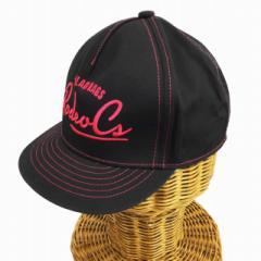 502ae1fe741ca6 ロデオクラウンズ Rodeo Crowns 帽子 キャップ 綿 コットン F 黒 ブラック ピンク レディース