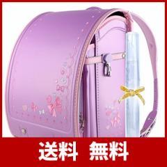 (Coulomb クーロン) 2020年度新作モデル ランドセル女の子 小学生通学鞄 Japanese schoolbag 高級人工皮革 パール生地 A4フラットフ