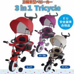 JTC(ジェーティーシー) ベビー用品 三輪車型ベビーカー 3 in 1 Tricycle