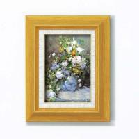 ルノワール名画額サム 「花瓶の花」(立体加工付き) 17723
