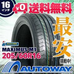 還元祭 最大2,000円OFFクーポン対象★タイヤ サマータイヤ 205/60R16 MAXTREK MAXIMUS M1
