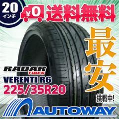 ◆送料無料◆【新品】 【タイヤ】 RADAR VERENTI R6 225/35R20.Z 90W XL