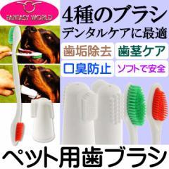 送料無料 ペット用歯ブラシ デンタルケアに コンボデンタブラシDX Fa123