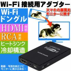 送料無料 Wi-Fi接続用アダプター iPhone画面 モニ...