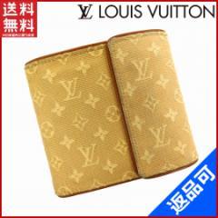 人気 即納 ルイヴィトン LOUIS VUITTON 二つ折り財布 三つ折り財布 メンズ可 モノグラムミニ【中古】 X10517