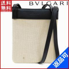 人気 即納 ブルガリ BVLGARI ショルダーバッグ ポーチ メンズ可 【中古】 X11493