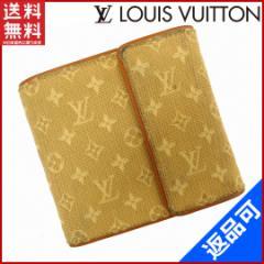 人気 即納 ルイヴィトン 財布 LOUIS VUITTON 二つ折り財布 三つ折り財布 メンズ可 モノグラムミニ 【中古】 X13596