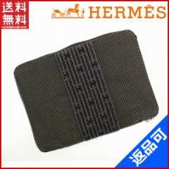 即納 エルメス 財布 HERMES 二つ折り財布 エールライン 【中古】 X14315