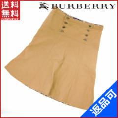 即納 バーバリー BURBERRY スカート 【中古】 X2455