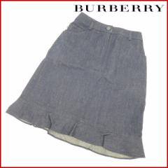即納 バーバリー BURBERRY スカート 【中古】 X2467
