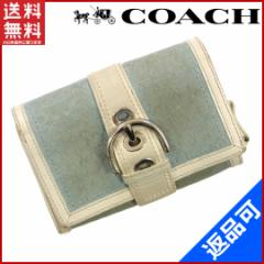 コーチ 財布 レディース (メンズ可) COACH 二つ折り財布 三つ折り財布 シグ 即納 【中古】 X309