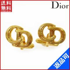 (人気・良品) クリスチャン・ディオール Christian Dior カフス /メンズ CDロゴ【中古】 X5486