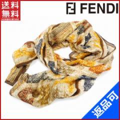 フェンディ スカーフ FENDI スカーフ ブラウン 人気 美品 【新品】 X7279